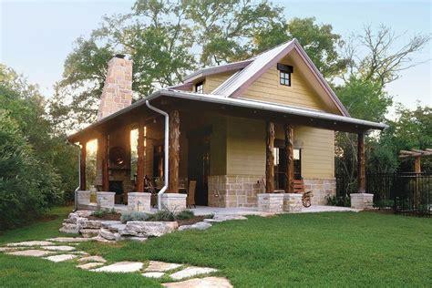 Log Cottage Plans Cabins Cottages 1 000 Square Guest House
