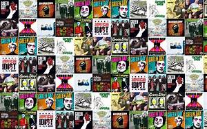 Collage tile tiles music green day punk pop-punk wallpaper ...