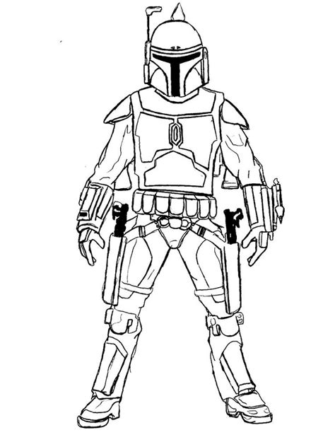 mandalorian coloring pages  printable mandalorian