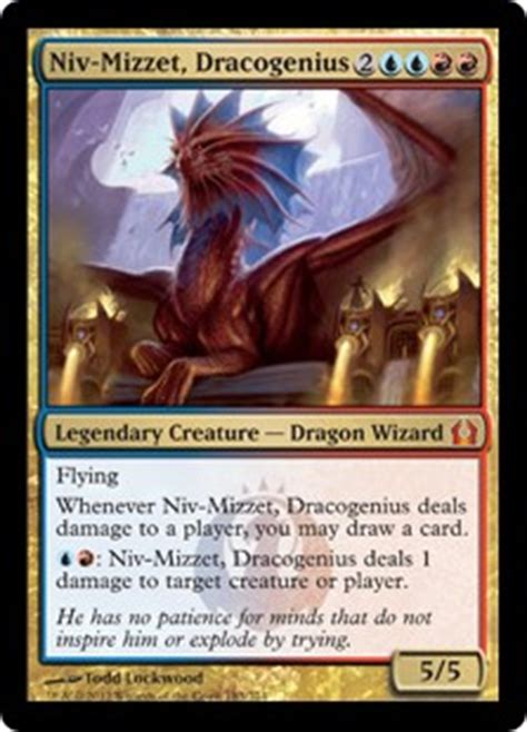 niv mizzet dracogenius return to ravnica gatherer