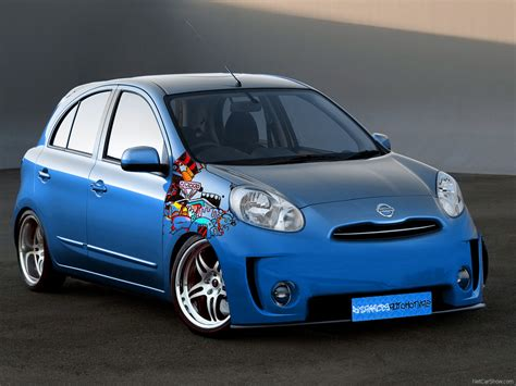 Nissan March Modification by Tuning Wide Nissan March Micra Modified Ceper