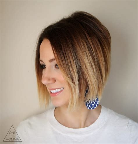 chocolate brown hair color 26 popular ombre bob hairstyles ombre hair color ideas