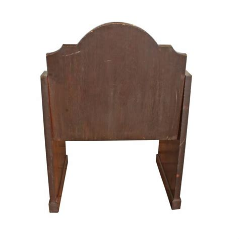 oak church altar chairs s 2 for sale at 1stdibs