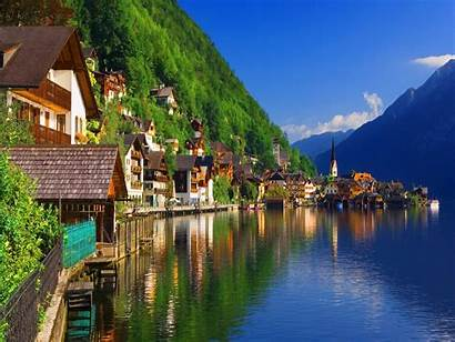 Europe Nature Amazing Wallpapers Places Austria River