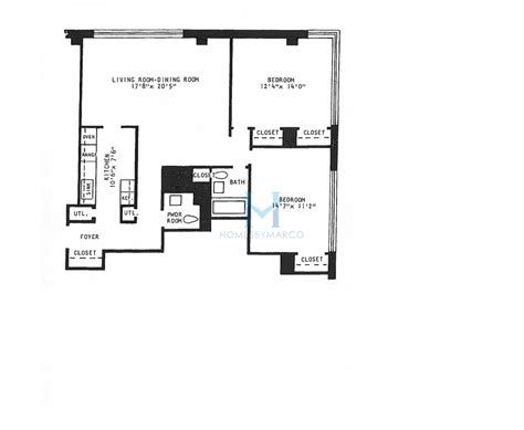 floor plans shore towers l model in the shoreline towers subdivision in chicago illinois homes by marco