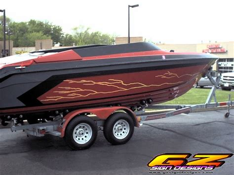 Boat Trailer Graphics by Boat Trailer Vinyl Graphics Gz Sign Designs Inc