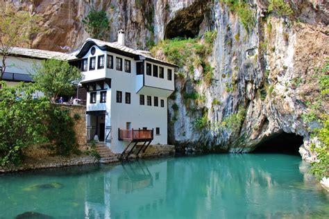 Blagaj Tekija Dervish Monastery, Mostar, Bosnia ...