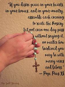 318 best images... Rosary Quotes