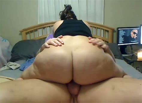 Bbw Wife Riding Big Dick In A Cowgirl Position Until I