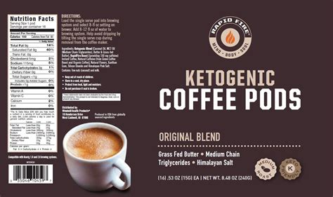 All products from rapid fire ketogenic coffee category are shipped worldwide with no additional fees. Rapid Fire Ketogenic Coffee - Original - Windmill Vitamins