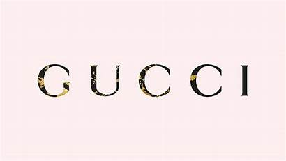 Gucci Gold Background Simple Splats Communication Text
