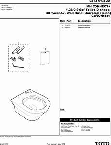 Pm Parts Manual Ct437fgt20 Spare Sheet
