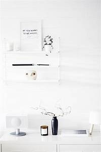string shelf styling noepahjertetcom s t y l i n g With kitchen colors with white cabinets with tom dixon etch candle holder
