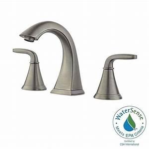 pfister pasadena 8 in widespread 2 handle bathroom faucet With pfister pasadena bathroom faucet