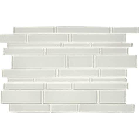 home depot glass tile ms international interlocking 12 in x 18 in x 8 mm