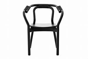 Stuhl Schwarz Holz : normann copenhagen knot chair stoel zwart hout living and co ~ Orissabook.com Haus und Dekorationen
