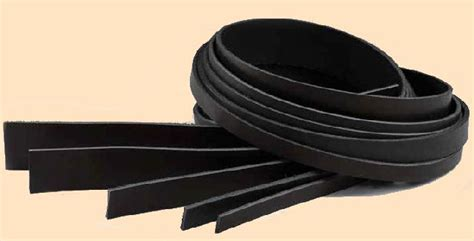 Cowhide Strips by Leather Belt Blanks Cowhide Strips Standing S