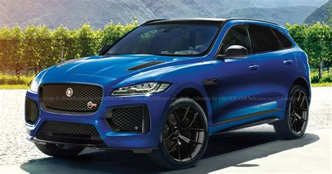 The Jaguar F-pace Svr Is Coming, And It'll Probably Look