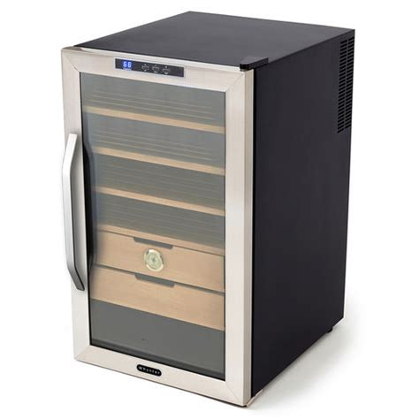 humidity wine cooler whynter 2 5 cubic ft stainless steel cigar cooler humidor