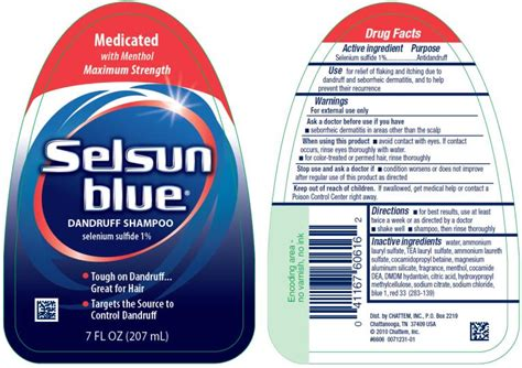 Selsun Blue Normal To Oily- Selenium Sulfide