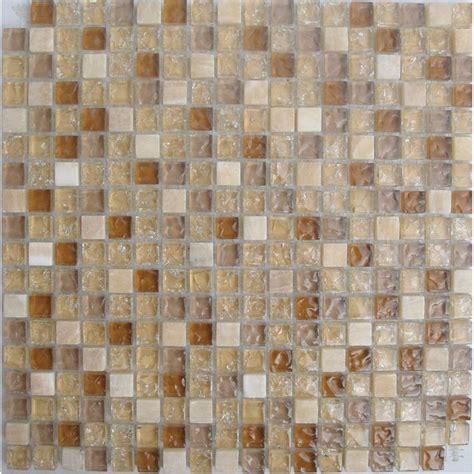 glass tiles cracked glass mix white