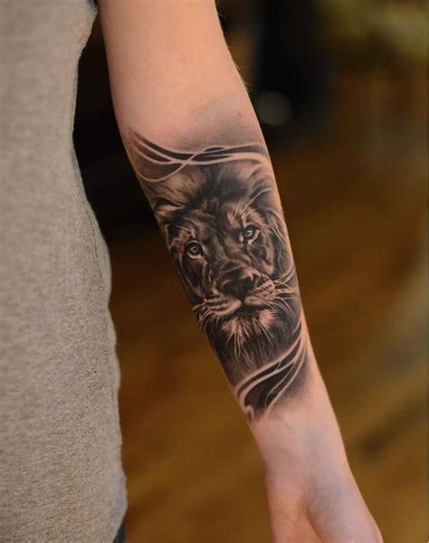 lion forearm tattoos designs ideas  meaning tattoos