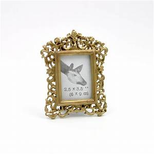 Pretty Dull Golden Photo Frames Fancy Dark Gold Small ...