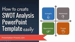 how to create swot analysis powerpoint template easily With how to create a presentation template in powerpoint