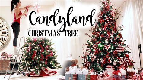 candyland christmas tree youtube