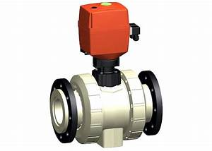 Progef Standard Ball Valve Type 180 24v With Manual