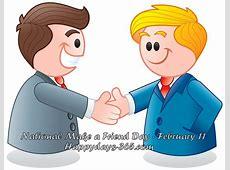 National Make a Friend Day February 11, 2018 Happy
