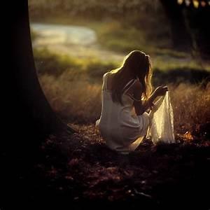 alone, art, beautiful, dress, female, girl - image #32284 ...