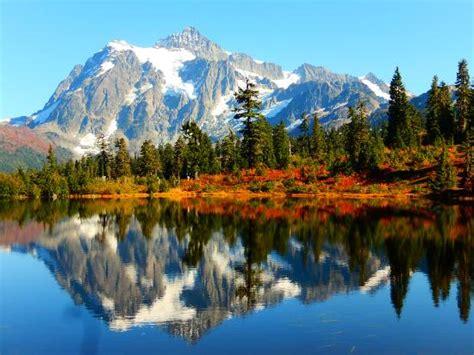 Picture Of Mount Baker, Washington