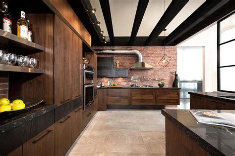 cuisine en bois frene loft cuisine bois noyer frêne quartz