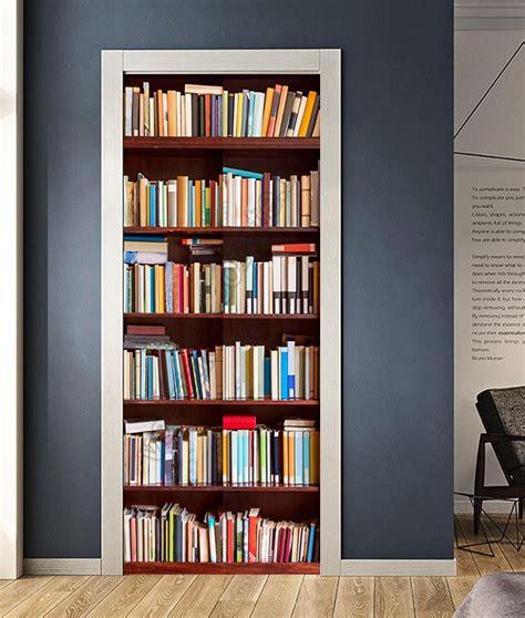 porta libreria 1091 immagine di una libreria per decorare la porta di