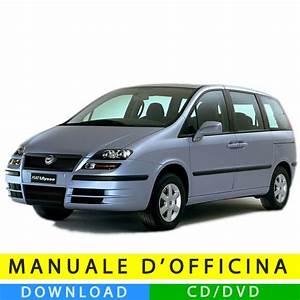 Manuale Officina Fiat Ulysse  2002