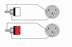 Ref708 2 X Xlr Male Wiring Diagram