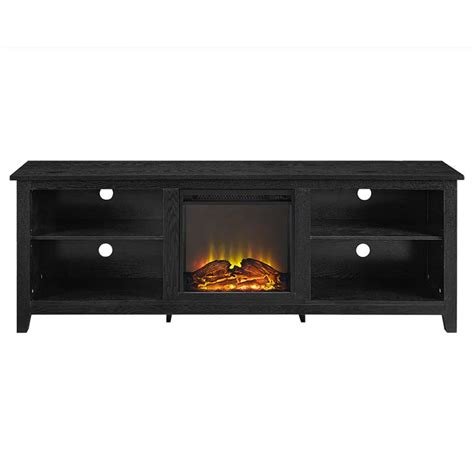 70 tv stand with fireplace walker edison 70 inch tv stand with electric fireplace