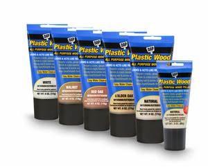 Plastic Wood Latex Wood Filler—Squeeze Tube - DAP