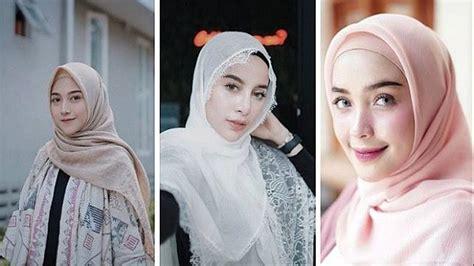 selebgram hijab  cantik  indonesia
