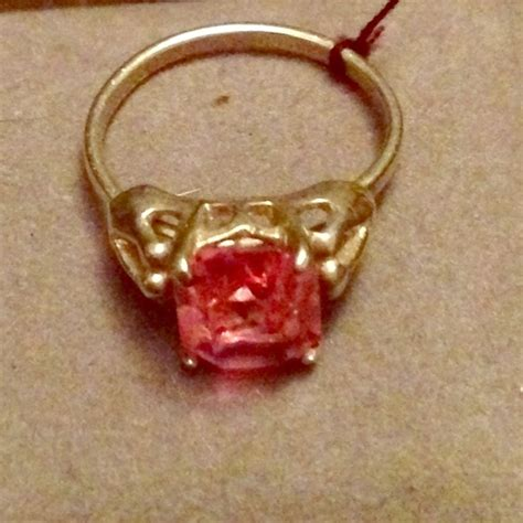 coventry jewelry vintage cov pink sapphire sterling ring poshmark
