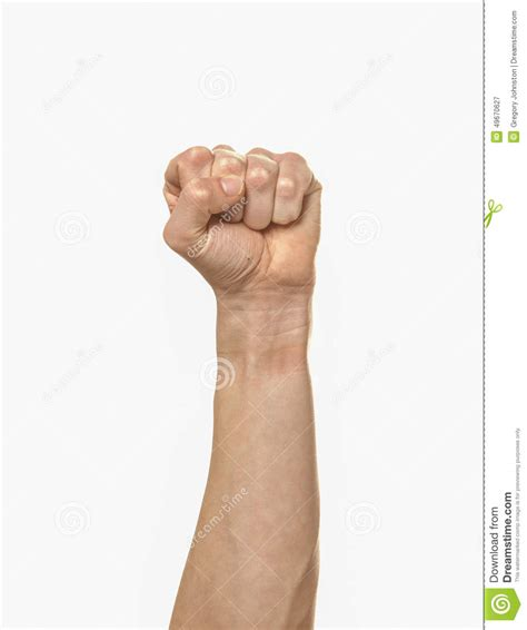 Clenched Fist Stock Photo Image 49670627