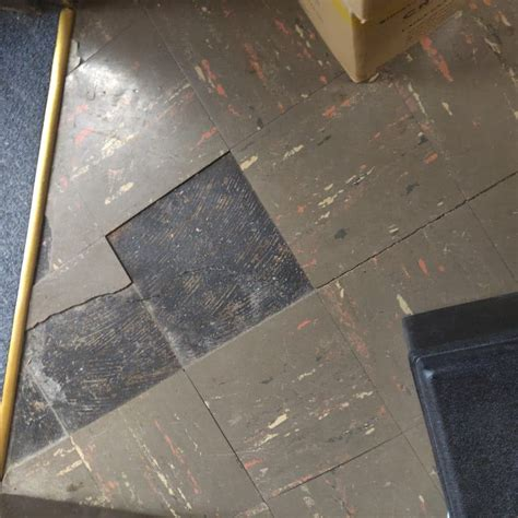 asbestos floor tile mastic indoor science chicago