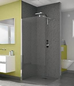 douche sans porte cacramique With dimension douche italienne sans porte