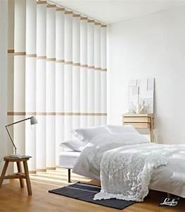 Rideaux Lamelles Verticales : stores californien s paration des lamelles par du bois ~ Premium-room.com Idées de Décoration