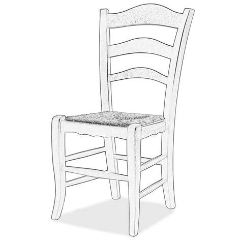 sedia legno grezzo sedia grezza da decorare montanara arredas 236