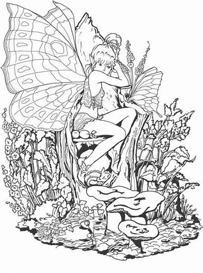 Coloring Fantasy Pages Advanced Coloringme December