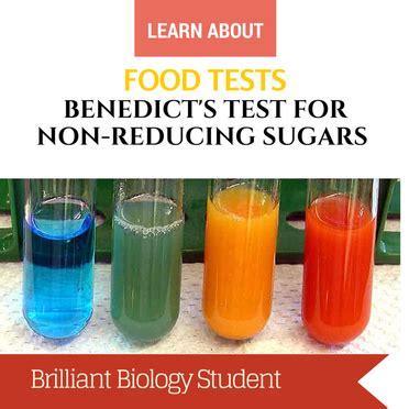food tests benedicts test  reducing sugar ni