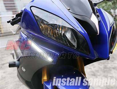 Led Strip Fairing Signal Lights R1 120mm
