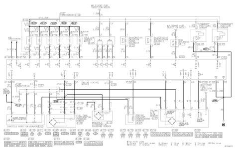 mitsubishi pajero engine diagram mitsubishi pajero wiring